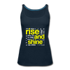 Rise And Shine - deep navy