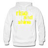 Rise And Shine - white