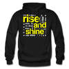 Rise And Shine - black