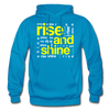 Rise And Shine - turquoise