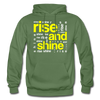 Rise And Shine - military green