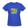 Rise And Shine - royal blue