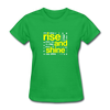 Rise And Shine - bright green