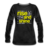 Rise And Shine - charcoal gray