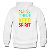 Hi There ! Keep Spirit - white