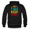 Hi There ! Keep Spirit - black