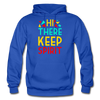Hi There ! Keep Spirit - royal blue