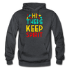 Hi There ! Keep Spirit - charcoal gray