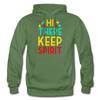 Hi There ! Keep Spirit - military green
