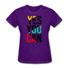 Yes You Can - purple