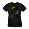 Yes You Can - black