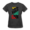 Yes You Can - heather black