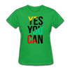 Yes You Can - bright green