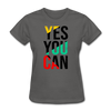 Yes You Can - charcoal