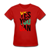 Yes You Can - red