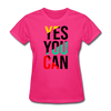 Yes You Can - fuchsia