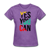 Yes You Can - purple heather