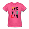 Yes You Can - heather pink