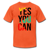 Yes You Can - orange