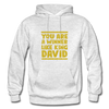 You are a Winner Like King David - light heather gray
