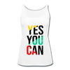 Yes You Can - white