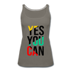 Yes You Can - asphalt gray
