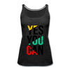 Yes You Can - charcoal gray