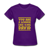 You are a Winner Like King David - purple
