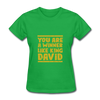 You are a Winner Like King David - bright green