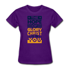 The Hope Of Glory Crist is in you - purple