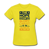 The Hope Of Glory Crist is in you - yellow