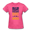 The Hope Of Glory Crist is in you - heather pink