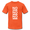 No Smoking, No Alcohol, No Drug - orange