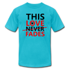This Love Never Fades - turquoise