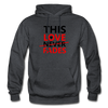 This Love Never Fades - charcoal gray