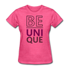 Be Unique - heather pink