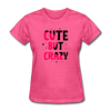 Cute But Crazy - heather pink