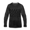 Make Some Noise - charcoal gray