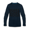 Make Some Noise - deep navy