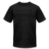 Justice For Peace - black