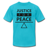 Justice For Peace - turquoise