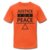 Justice For Peace - orange