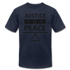 Justice For Peace - navy