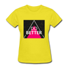 Do Better - yellow