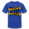 Peace At Any Time - royal blue