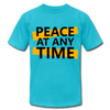 Peace At Any Time - turquoise