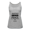 Justice For Peace - heather gray