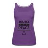Justice For Peace - purple
