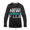 New Normal Life - charcoal gray