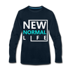 New Normal Life - deep navy